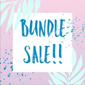 Bundle and save!!🏵🏵🏵